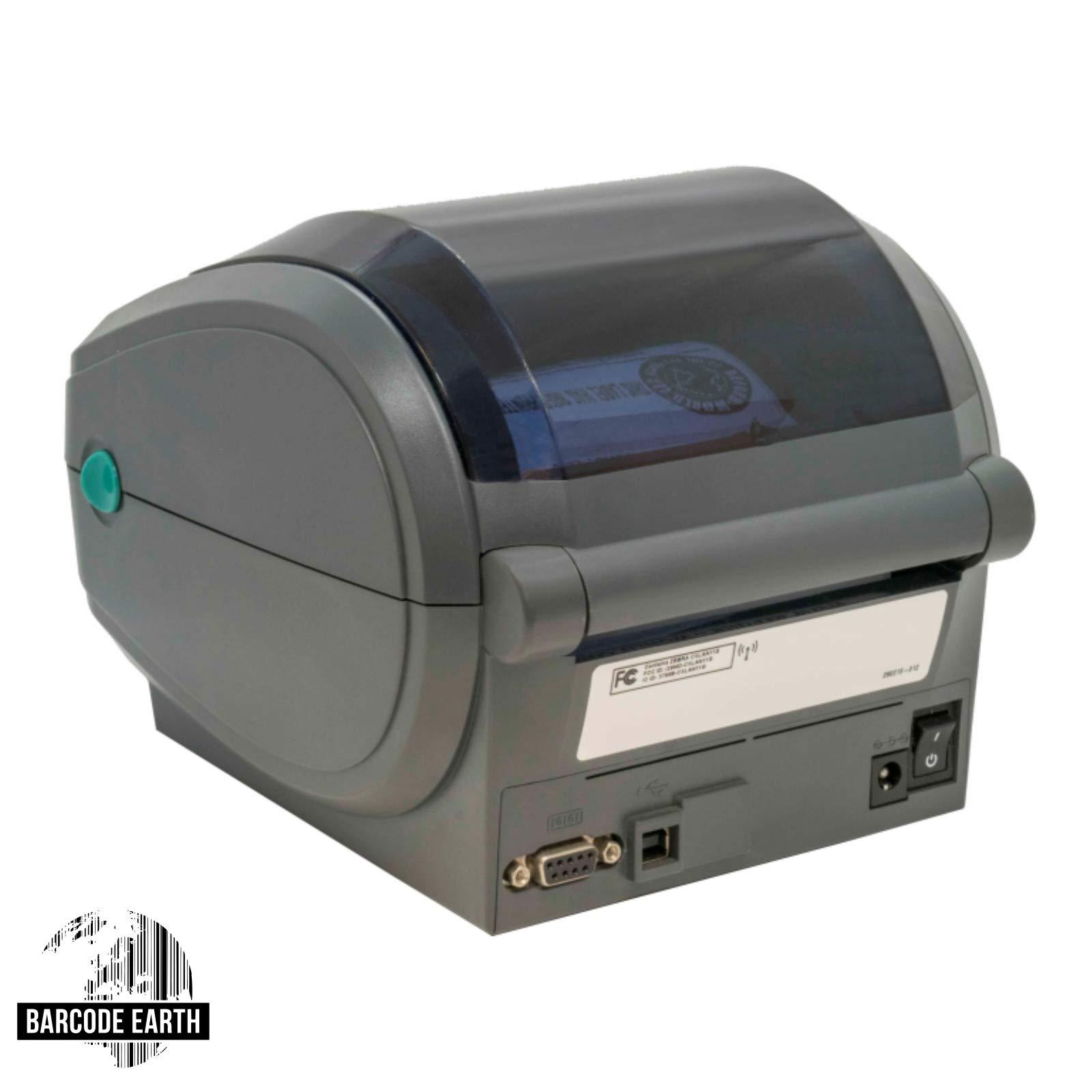 Zebra GX420D 802.11 Wireless WiFi Direct Thermal Label Printer (GX42-202710-000) (Renewed) by Zebra Technologies (Image #3)