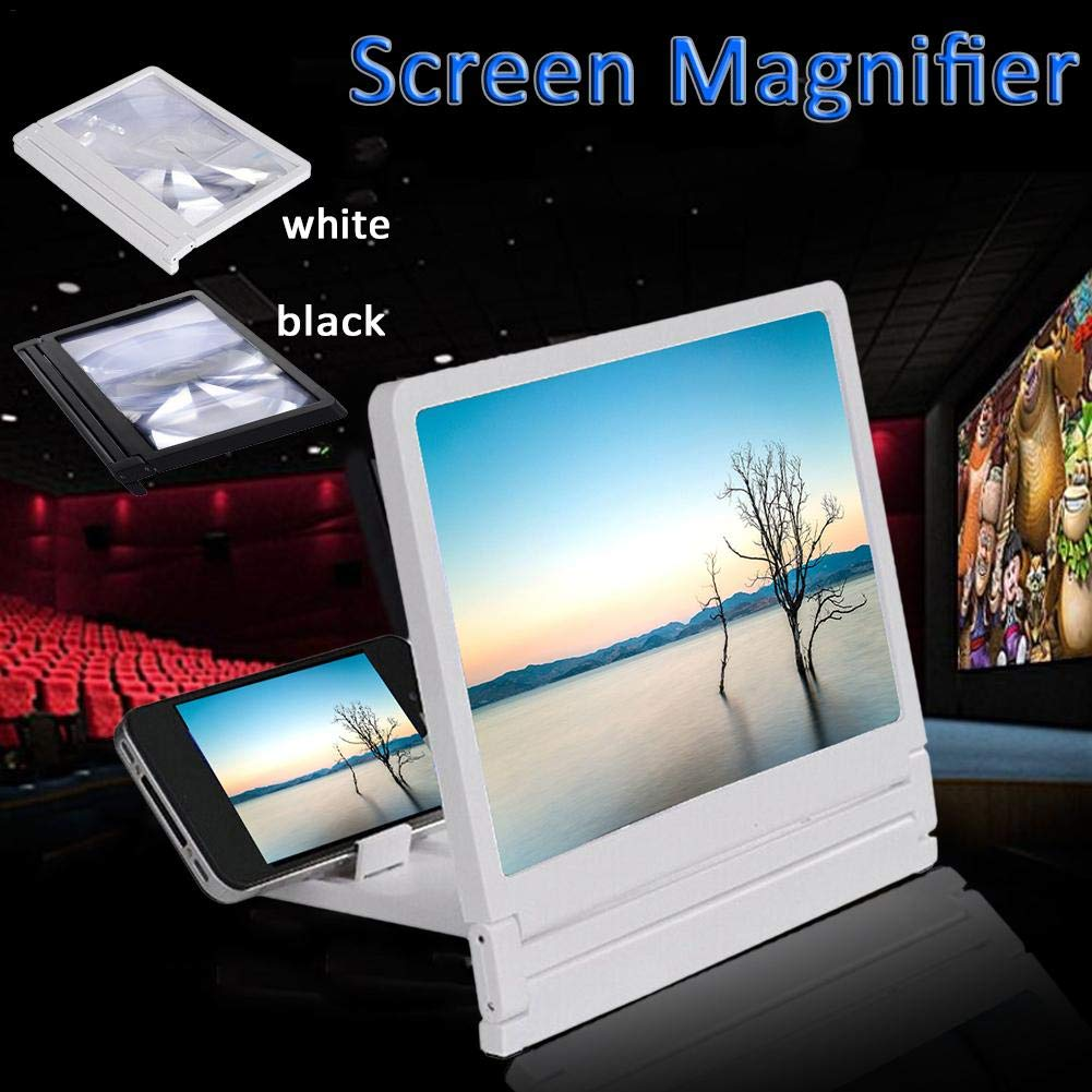 Amazon.com: blue--net 8.2 inch Screen Magnifier 3D Smart Mobile Phone Movies Amplifier, Cellphone Projector Enlarged Amplifier HD Movie Video Amplifier for ...
