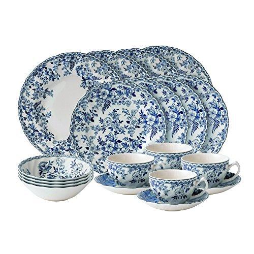 Johnson blue dishes