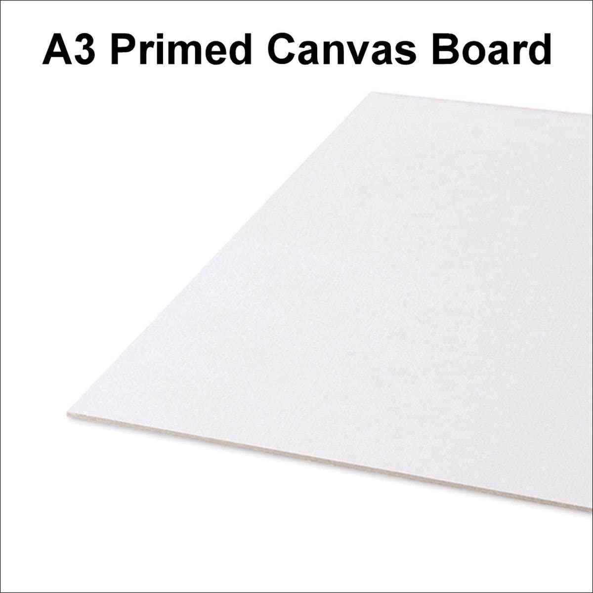 Oils /& Acrylics Colour Painting Wooden Framed White Plain Blank Canvas2 Sizes