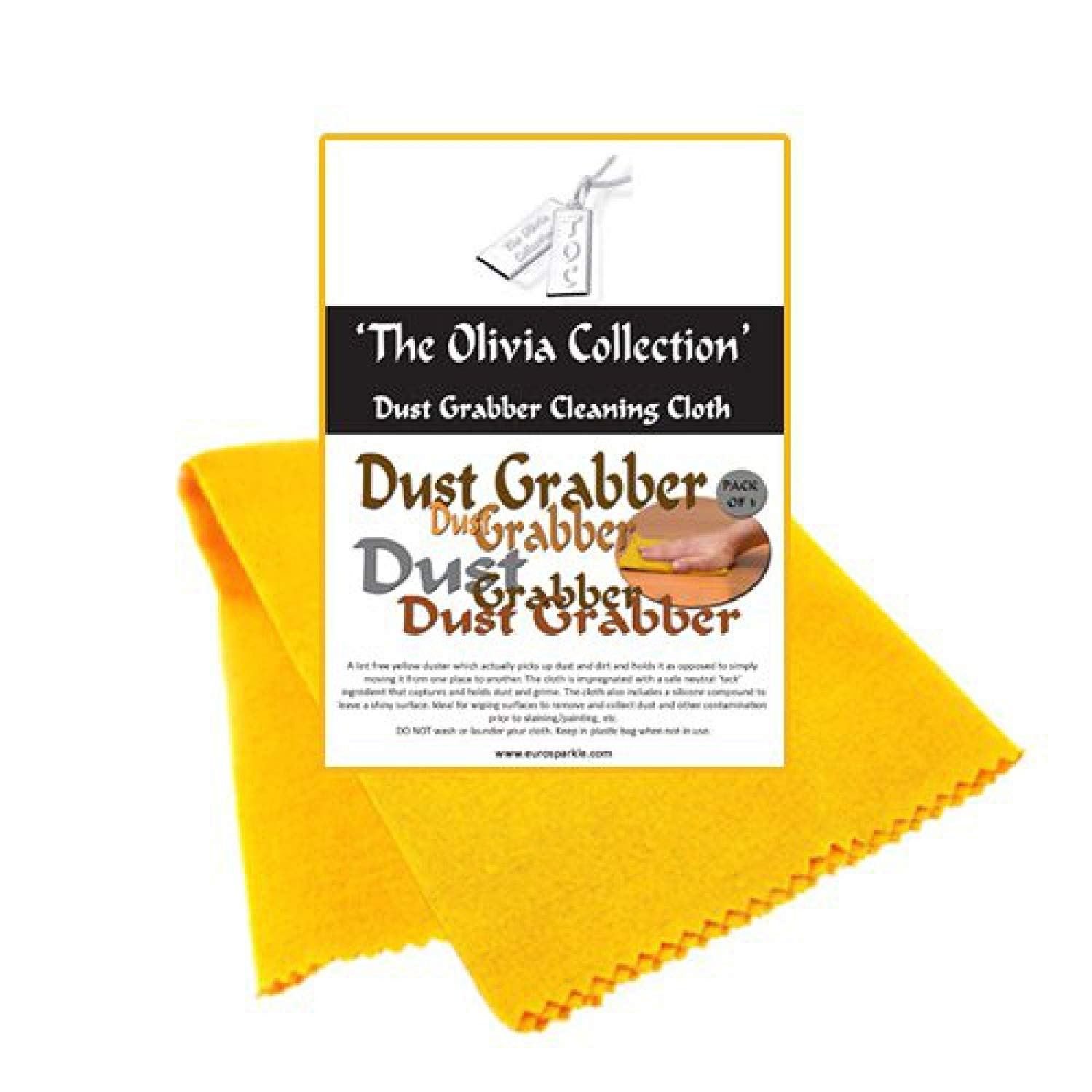 The Olivia Collection TOC Dust Grabber Cleaning & Polishing Cloths - Pack of 3, 425mm x 310mm Direct Diamond Centre SC227