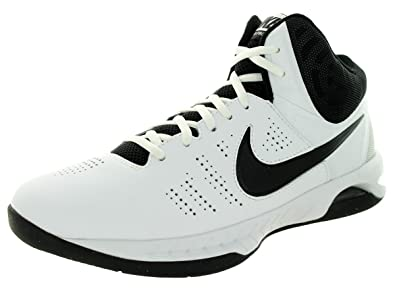 f6b38389a0b Nike Men s Air Visi Pro VI Basketball Shoe White Black Cool Grey 11 ...