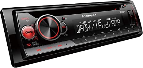 Bluetooth Pioneer MVH-X580DAB Next Generation Car Stereo with AM//FM DAB//DAB+ and Spotify USB