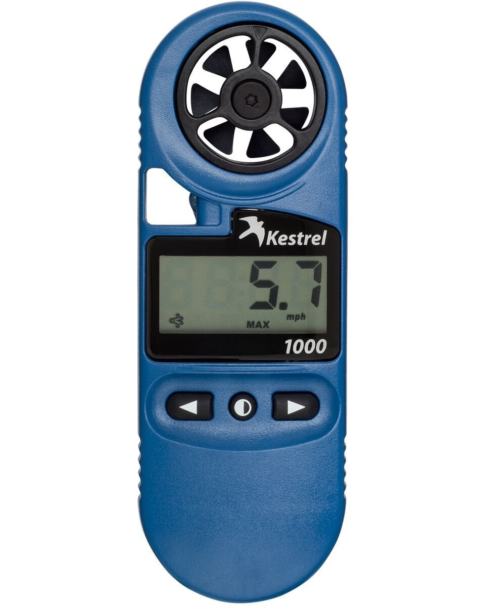 Kestrel 1000 POCKET WIND METER - BLUE 0810