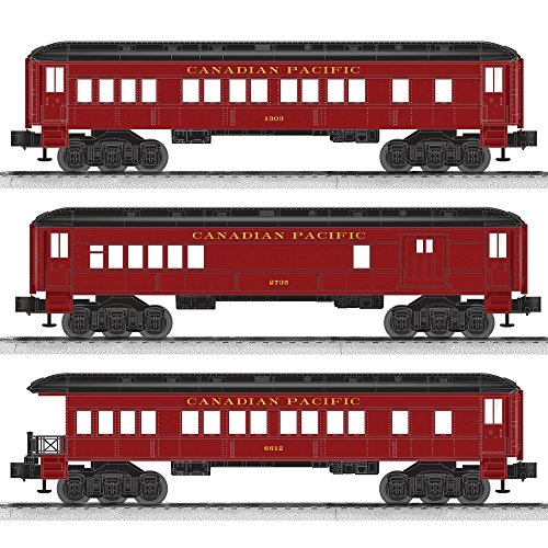 fic Baby Madison Combo/Coach/Observation Passenger Car (3 Pack) (Canadian Pacific Passenger Trains)