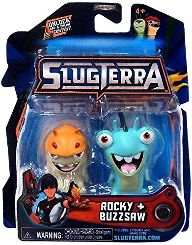 Slugterra Mini Figure 2-Pack Rocky /& Buzzsaw Includes Code for Exclusive Game Items Jakks SG/_B00BR1IJS6/_US