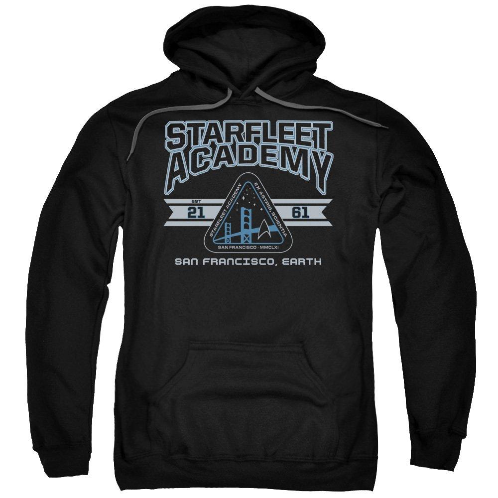 Star Trek - - Herren Starfleet Academy Earth Pullover Hoodie