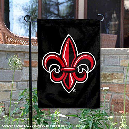 Louisiana University - Louisiana Lafayette Ragin Cajuns Fleur Garden Flag and Banner