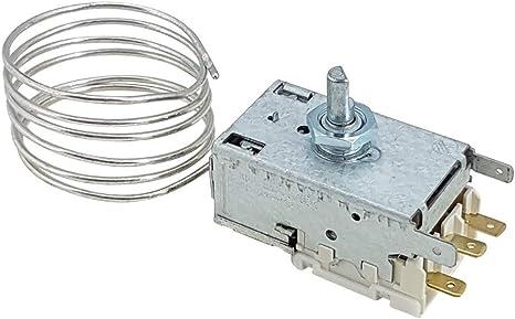 Ranco K59-H1300 - Termostato para Liebherr 6151086 Miele AEG Juno: Amazon.es: Grandes electrodomésticos