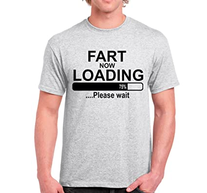 出典:amazon.co.uk「FART NOW LOADING T-shirt」