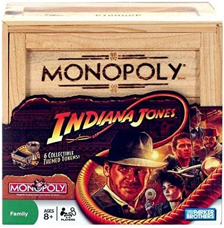 Monopoly Indiana Jones Edition by Hasbro: Amazon.es: Juguetes y juegos