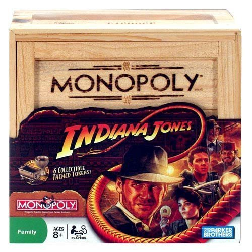 Monopoly Indiana Jones Edition by Hasbro