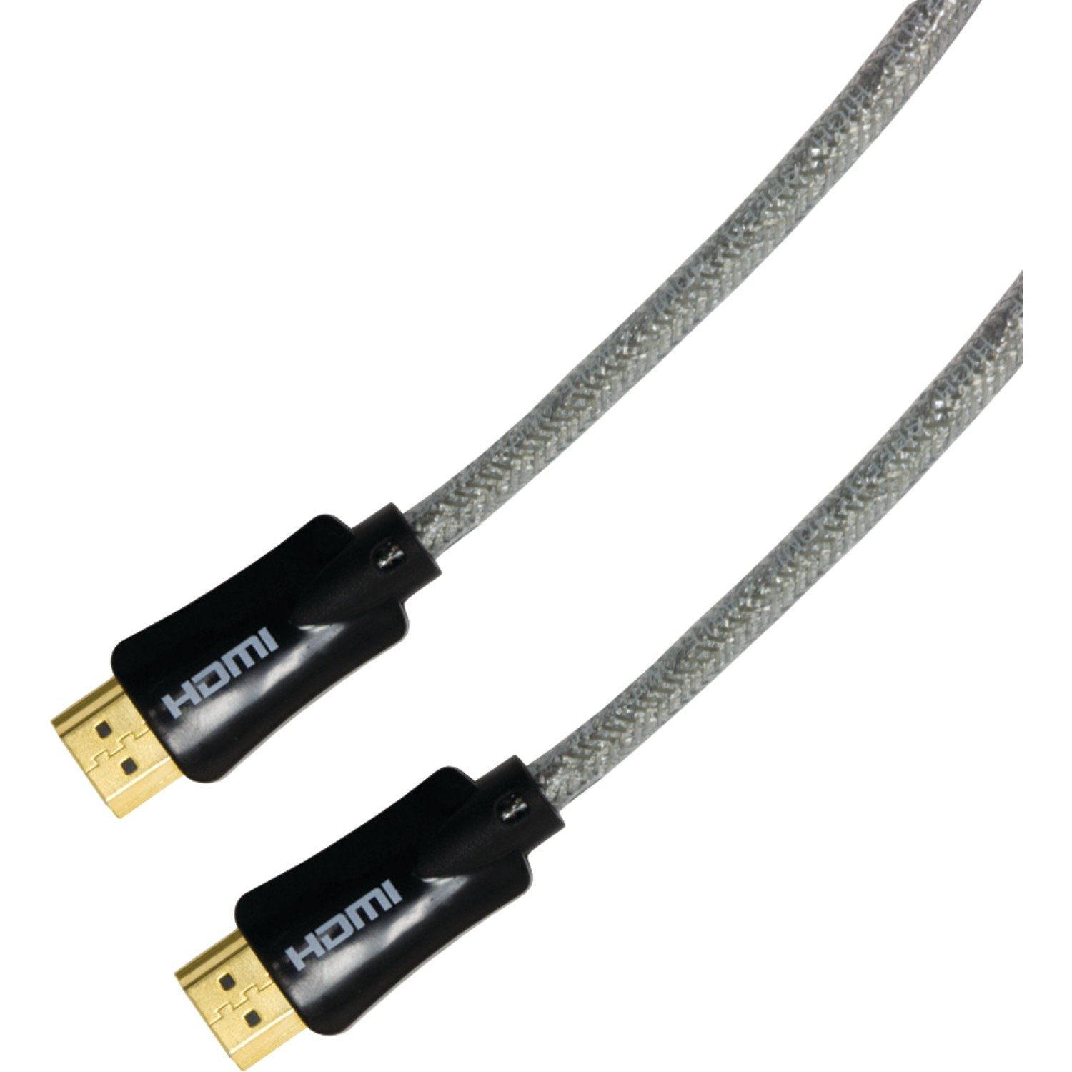 GE 24205 HDMI Cable with Ethernet, 50-Feet, Clear