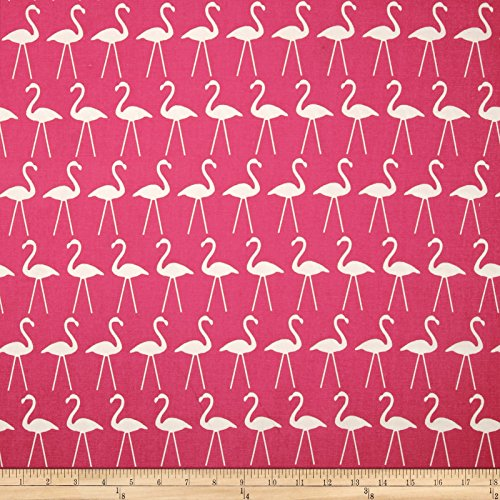 Premier Prints Flamingo Candy Pink Fabric By The Yard