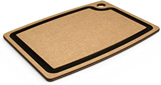 product image for Epicurean Gourmet Series 15-Inch-by-11-Inch Cutting Board with Cascade Effect, Natural with Slate Core