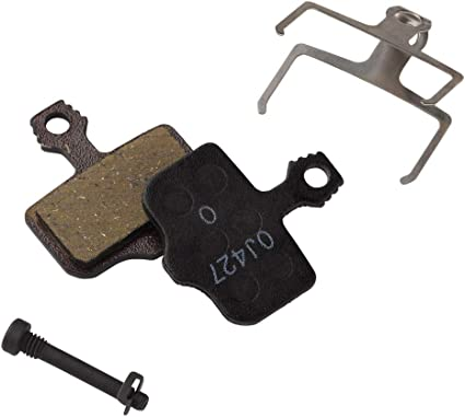 Avid Elixir// SRAM XX//X0 Disc Brake Pads Organic Pad Steel Backing Plate