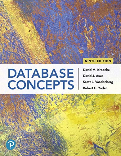 Database Concepts (9th Edition)