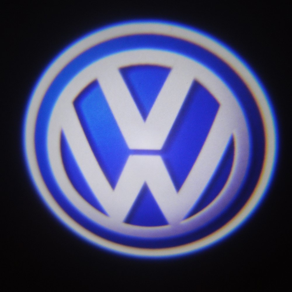 Moonet 2 x luz de puerta fantasma de coche LED Lámpara Cortesía ...