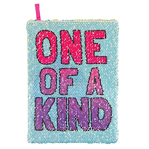 Style.Lab Style. Lab by Fashion Angels Magic Sequin Reveal Journal-Narwhal/One of a Kind (One Sequin)