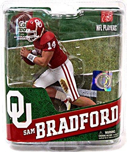 NCAA University of Oklahoma McFarlane 2012 College Football Series 4 Sam Bradford Action Figure