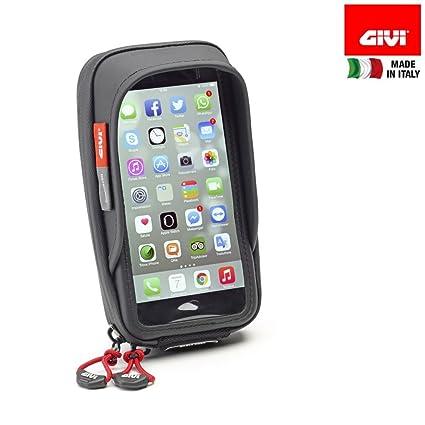 Soporte S957B para Manillar de Motocicleta de Givi, para teléfonos iPhone y Galaxy