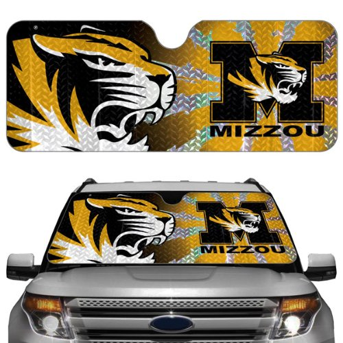 NCAA Missouri Tigers Auto Sun Shade (Car Sunshade Team)