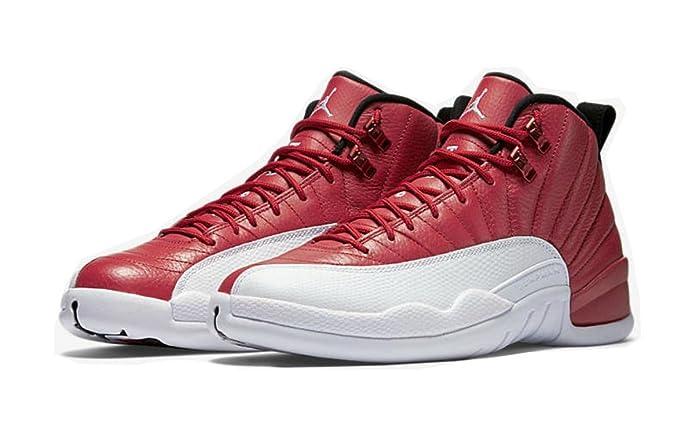 Amazon.com: Air Jordan 12 Alternate Gimnasio Rojo 2 de Julio ...