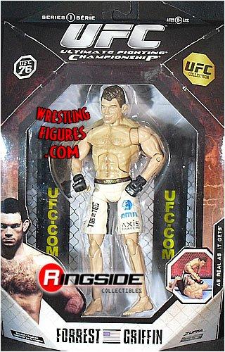 FORREST GRIFFIN - UFC DELUXE 1 JAKKS UFC TOY MMA ACTION