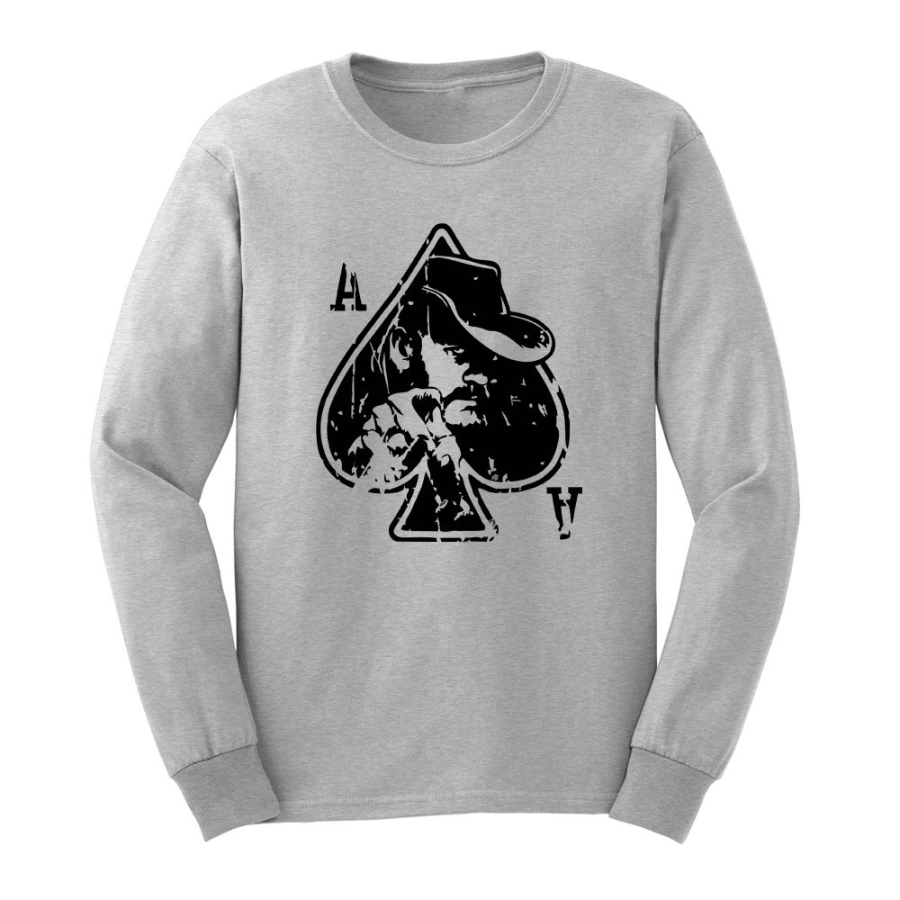 Loo Show S Lemmy Ace Of Spades T Shirts Casual Tee