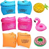 Nachvorn Floaties Swim Arm Bands Rings Floats Tube Armlets for Kids and Adult