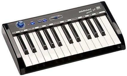 Amazon.com: Midistart Music 25 Teclado MIDI USB: Musical ...