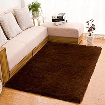 Gemini_mall® Plain Soft Shaggy Rug Area Rugs Living Room Bedroom ...