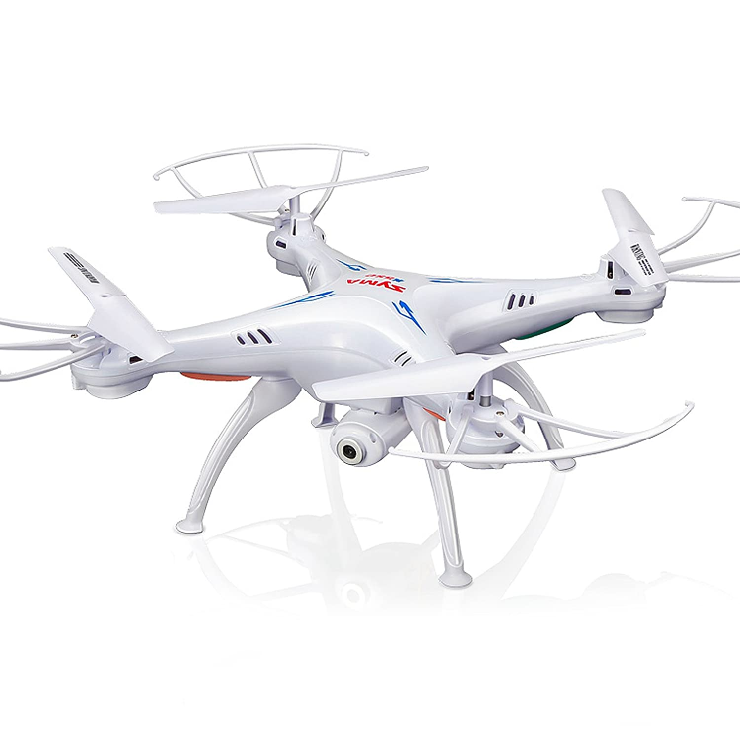 Cheerwing Syma X5SW-V3 FPV Explorers2 2.4Ghz 4CH 6-Axis Gyro RC Headless Quadcopter Drone UFO with HD Wifi Camera (White)