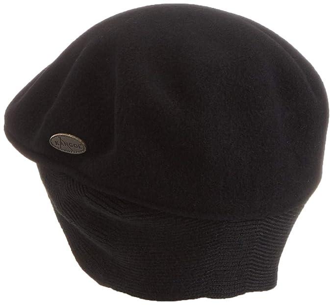 Authentic Kangol 100/% WOOL 504 EARLAP Ivy Cap Hat 0238KG S-XXL Black Grey Camo