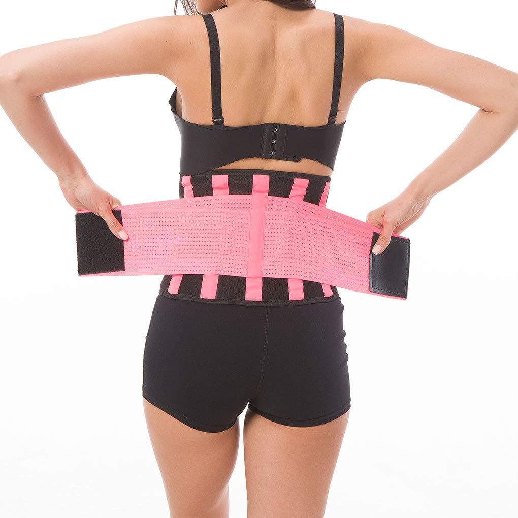 Unisex Women Waist Trainer Belt Sport Girdle Shaperwear Waist Cincher Support Slimming Fitness xuanL