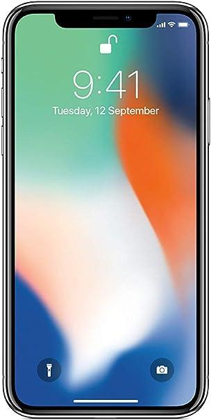 Apple iPhone X 64GB Plata (Reacondicionado): Amazon.es: Electrónica