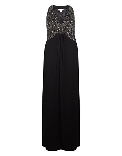 129ef4baa176 Monsoon Ladies Ayanna Maxi Dress - womens - 8: Amazon.ca: Clothing ...