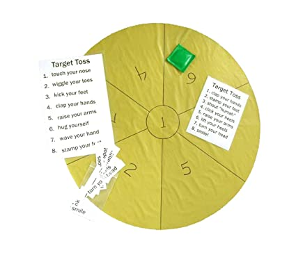 Keeping Busy Target Toss Dementia and Alzheimer's Engaging Activities /  Puzzles / Games for Older Adults
