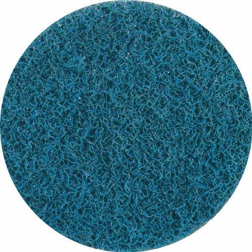 United Abrasives-SAIT 77122 4-1/2-Inch Sand-Light Non-Woven Disc, 10-Pack, Blue by United Abrasives- SAIT