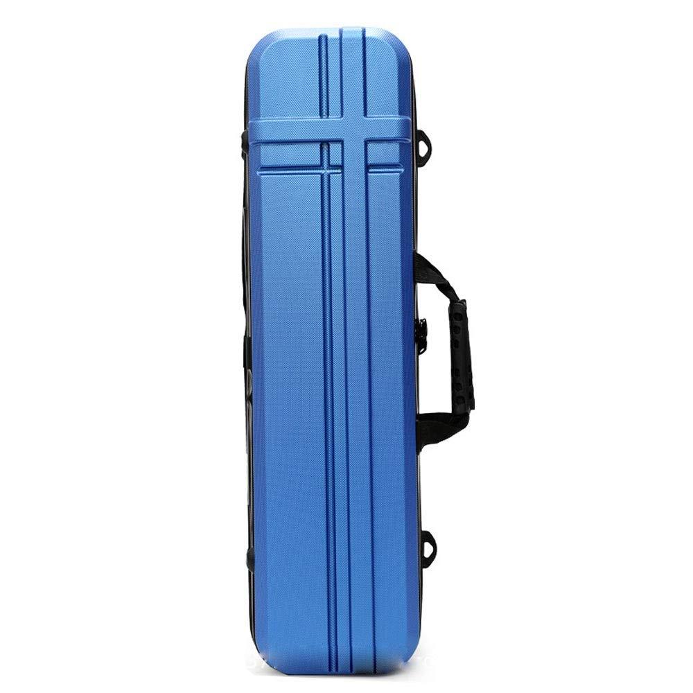 Bleu 80cm Wanlianer-Fishing Sac de Transporteur de Canne à pêche Cas de Transport de pôle de pêche pour Le Voyage 125cm Mallette de pêche (Couleur   Marron, Taille   90cm)