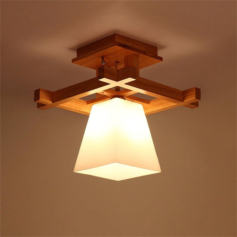 SMC Lámpara de techo Registros de Estilo japonés Simples lámparas ...