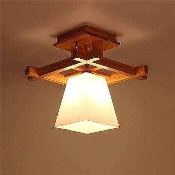 SMC Lámpara de techo Registros de Estilo japonés Simples ...