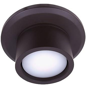 Climate Clipper per ventilatore da soffitto Climate I e Climate II Metallo Ottone antico 15,3 x 15,3 x 7 cm Metallo 15 GX53 240 volts GX53 LUCCI fini a unit/à di illuminazione 3/x 7/cm