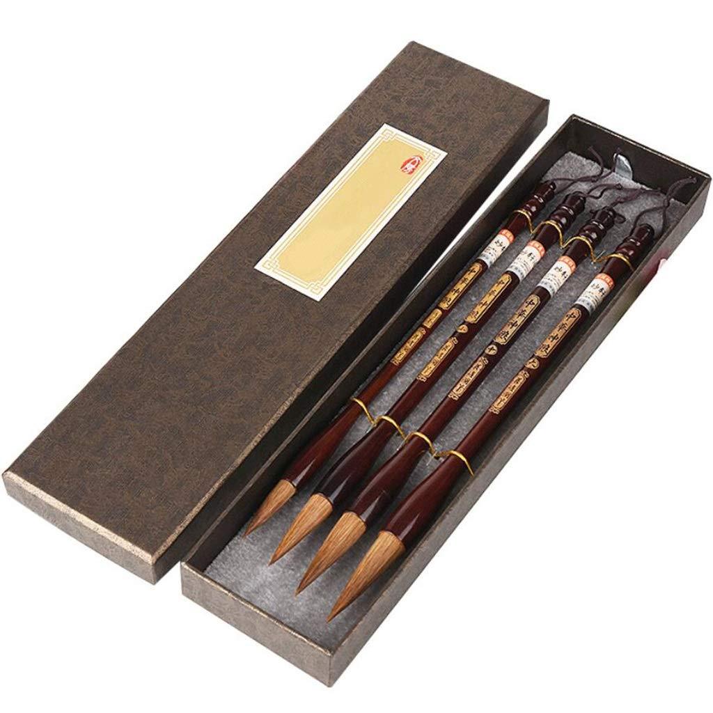 QTT Writing Brush, Writing Brush Set, Adult Study Four Treasure Beginners, Gift Set by QTT