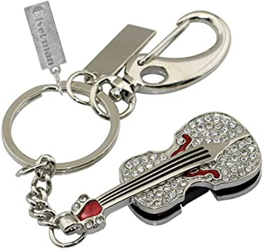 Memorias USB Pendrive Llavero USB Flash Drive Crystal Guitarra Violín Collar USB De Memoria Flash USB Joyas,8Gb: Amazon.es: Electrónica
