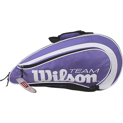 Wilson Padel Team - Paletero , color morado, talla NS: Amazon.es: Deportes y aire libre