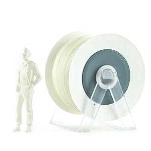 Eumakers FPLAD-1A-BIANCOPERLA Filamento in PLA, 1.75 mm, Bianco Perla