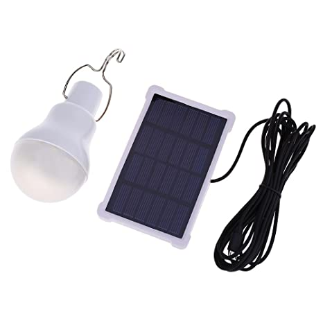 1.5w 5v 140lm Led Light Bulb Portable Camping Lamp For Bedroom Garden Living Room White Outdoor Solar Powered Lamps With A Hook Solar Lamps