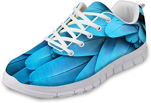 Parrot Feather Running Shoes Sneakers