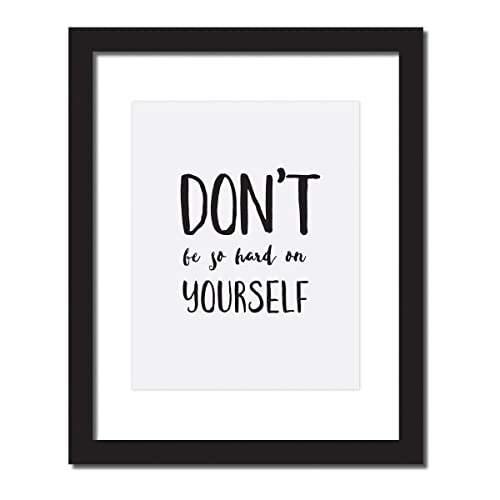 Image of: Motivation Image Unavailable Amazoncom Amazoncom Self Love Poster dont Be So Hard On Yourself